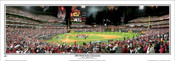 """2008 World Series Champions"" Phillies Panoramic Framed Poster"