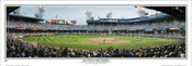 """Last Pitch at Tiger Stadium"" Detroit Tigers Panoramic Framed Poster"