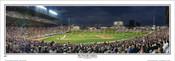 """Friendly Confines"" Chicago Cubs Panoramic Framed Poster"