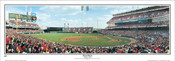 """First Pitch"" Cincinnati Reds Panoramic Framed Poster"