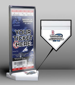 2004 World Series Champions Ticket Display Stand - Boston Red So