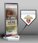 2011 World Series Champions Ticket Display Stand - St. Louis Car