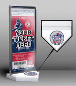 2013 World Series Ticket Display Stand - Cardinals vs Red Sox