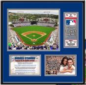 Dodger Stadium Ticket Frame - Dodgers