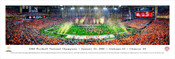 """2016 College Football Championship Game"" Panorama Poster"