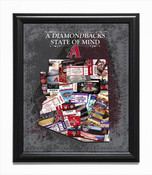 Arizona Diamondbacks State of Mind Framed Print