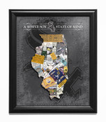 Chicago White Sox State of Mind Framed Print