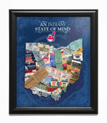Cleveland Indians State of Mind Framed Print
