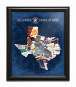 Houston Astros State of Mind Framed Print