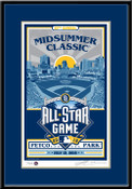 2016 MLB All-Star Game Sports Propaganda Handmade LE Serigraph Framed - San Diego Padres