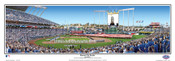 Kansas City Royals at Kauffman Stadium Panoramic Framed Poster