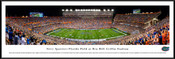 "Florida Gators ""50 Yard Line"" Ben Hill Griffin Stadium Panorama Poster"