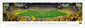 North Dakota State Bison at the Fargodome Panorama Poster