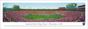 """Lambeau Field College Classic"" Wisconsin vs LSU Panorama Poster"