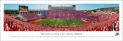 "Utah Utes ""50 Yard Line"" at Rice Eccles Stadium Panorama Poster"
