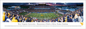West Virginia Mountaineers at Milan Pusker Stadium Panorama Poster