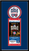 2016 World Series Single Ticket Frame - Chicago Cubs