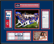 2016 NLCS Champions Ticket Frame - Chicago Cubs