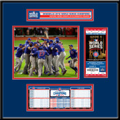 2016 World Series Champions Ticket Frame Jr - Chicago Cubs