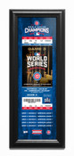 2016 World Series Champions Framed Ticket Print - Chicago Cubs