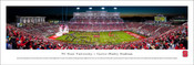 NC State Wolfpack at Carter Finley Stadium Panoramic Poster