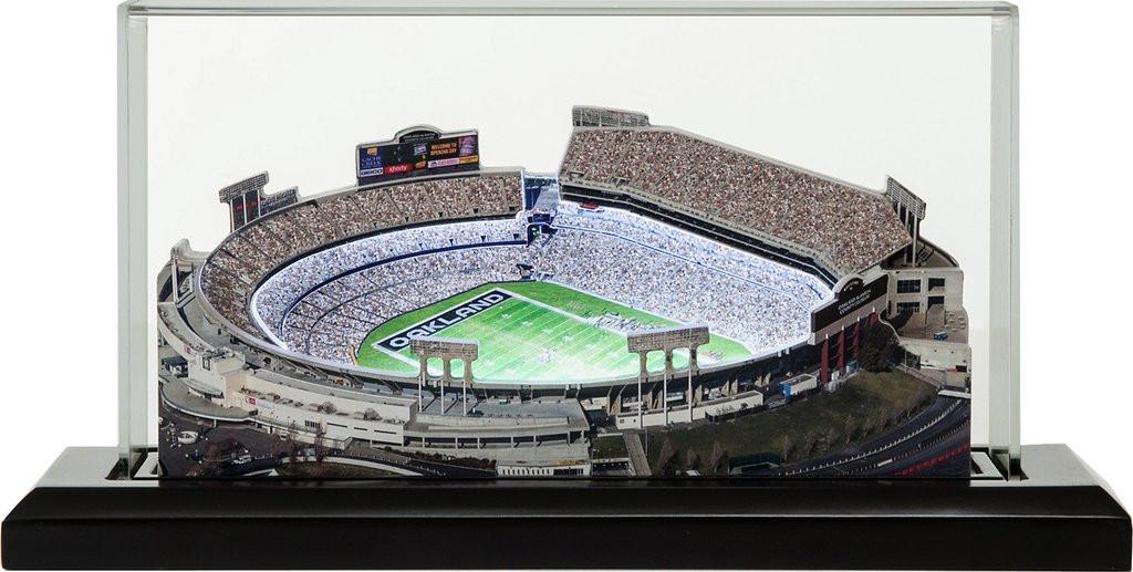 brand new ac8ab 97386 Oakland Coliseum - Oakland Raiders 3D Stadium Replica
