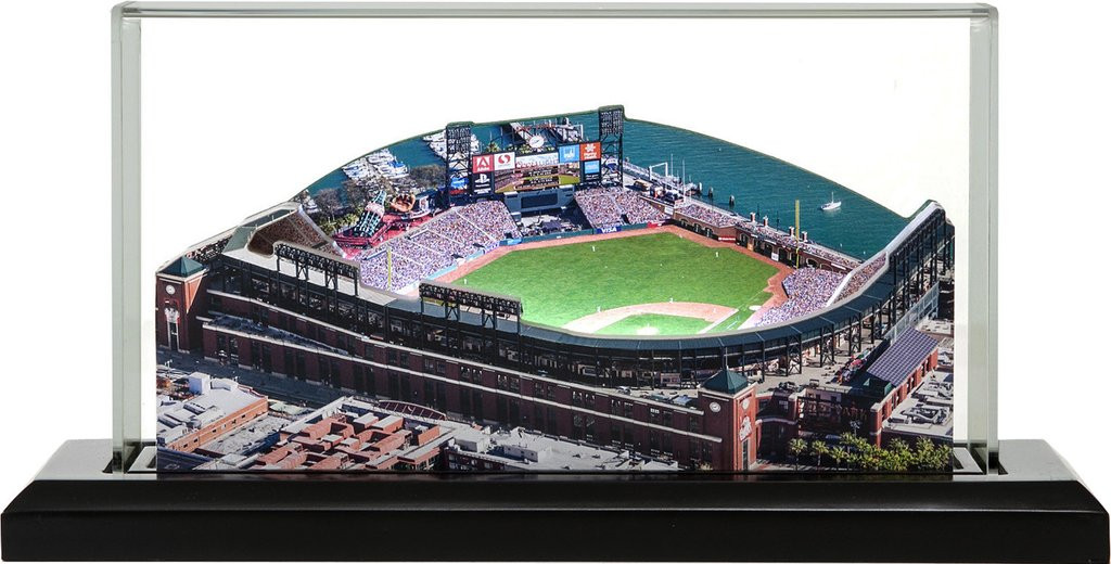 best sneakers 22e84 afb20 AT&T Park - San Francisco Giants 3D Stadium Replica