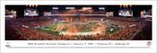 2016 Football National Champion Clemson Tigers Panoramic Poster