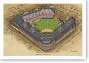 Ebbets Field - Brooklyn Dodgers Print