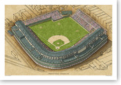 Wrigley Field (1930s) - Chicago Cubs Print
