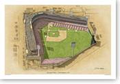 Crosley Field - Cincinnati Reds Print