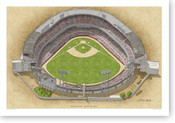 County Stadium - Milwaukee Brewers Print