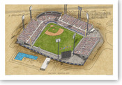 Jarry Park - Montreal Expos  Print