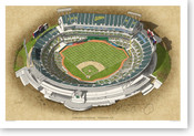 Oakland Coliseum - Oakland A's  Print
