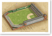 Baker Bowl - Philadelphia Phillies  Print
