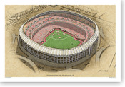 Veterans Stadium - Philadelphia Phillies  Print