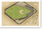 Exposition Park - Pittsburgh Pirates  Print