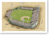 Seals Stadium - San Francisco Giants  Print