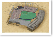 Exhibition Stadium - Toronto Blue Jays Print