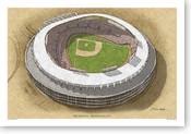 RFK Stadium - Washington Nationals Print