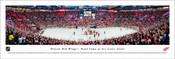 Detroit Red Wings Last Game at Joe Louis Arena Panoramic Poster