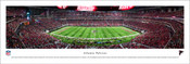 Atlanta Falcons at Mercedes-Benz Stadium Panorama Poster