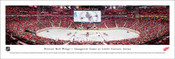"Detroit Red Wings ""Inaugural Game"" at Little Caesars Arena Panoramic Poster"