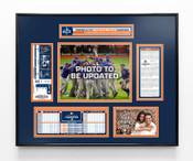 2017 ALCS Champions Ticket Frame - Houston Astros