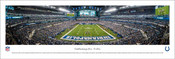 "Indianapolis Colts ""End Zone"" at Lucas Oil Stadium Panoramic Poster"
