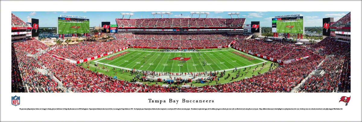 d8d156c3 Tampa Bay Buccaneers at Raymond James Stadium Panoramic Poster