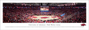 Arkansas Razorbacks Basketball at Bud Walton Arena Panoramic Poster