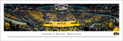 Missouri Tigers Basketball at Mizzou Arena Panoramic Poster