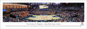 Virginia Cavaliers Basketball at John Paul Jones Arena Panoramic Poster