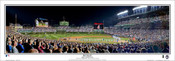 "Chicago Cubs ""2015 NLCS"" Wrigley Field Panoramic Framed Poster"